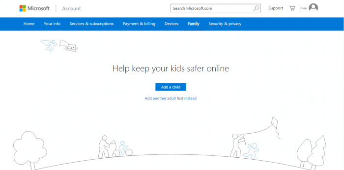 Microsoft Family Safety